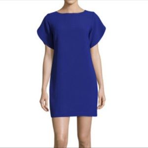 French Connection Cobalt Tulip Sleeve Dress Size 2